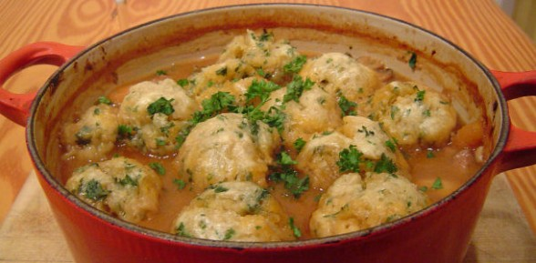 Classic Beef Stew and Dumplings