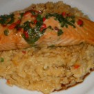 Thai Salmon and Coconut Rice