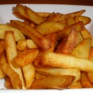 Twice cooked Homemade Chips