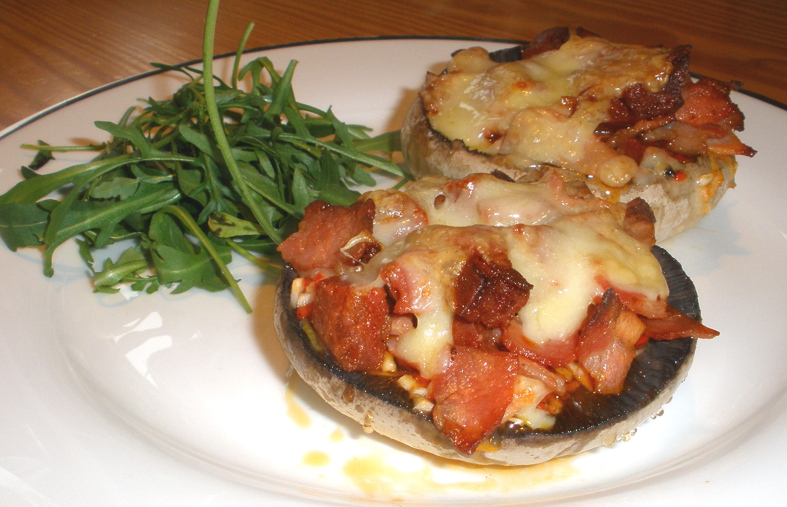 Dinner Party Starters Ideas Part - 38: Tasty Stuffed Portobello Mushrooms