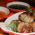 Thai Pork Meatballs With Dipping Sauce